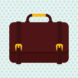 Suitcase icon design. Suticase concept with icon design, vector illustration 10 eps graphic Stock Image