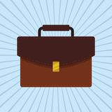 Suitcase icon design. Suticase concept with icon design, vector illustration 10 eps graphic Royalty Free Stock Photos