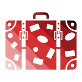 Suitcase icon Stock Images