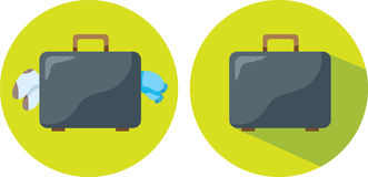 Suitcase icon Stock Photo