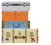 Suitcase illustration Stock Photo