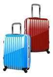 Suitcase isolated on a white background Royalty Free Stock Images
