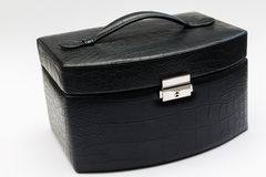 Suitcase for jewelry Stock Photography