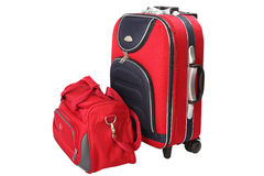 Suitcase luggage Stock Images