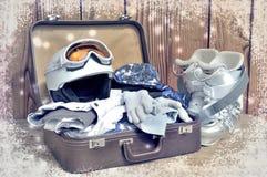 Ready for winter sport Stock Photos