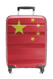 Suitcase with national flag series - China Royalty Free Stock Photography
