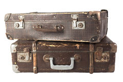 Suitcase Pair Stock Photography