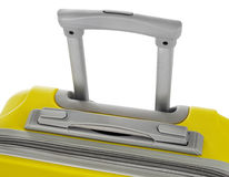 Suitcase's handle Stock Photography