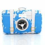 Suitcase-safe for travel Stock Images