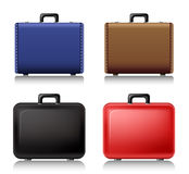 Suitcase set Stock Photography