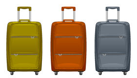 Suitcase set Royalty Free Stock Photo