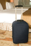 Suitcase stands up Stock Images