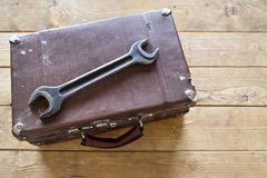 Suitcase for tools Stock Photos
