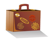 Suitcase for travel Royalty Free Stock Images