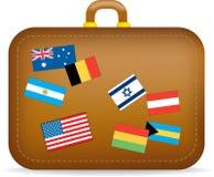 Suitcase travel Stock Photography