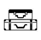 Suitcase travel  icon Stock Photo