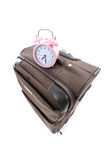 Suitcase travel luggage bag Stock Image