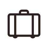 Suitcase - travel symbol Royalty Free Stock Image