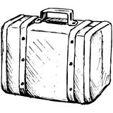 Suitcase Travel Royalty Free Stock Photos