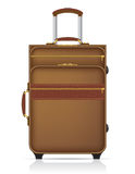 Suitcase for travel vector illustration Royalty Free Stock Photos