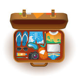 Suitcase for travel Royalty Free Stock Photos
