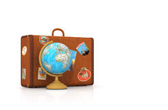 Suitcase for travel. Stock Image