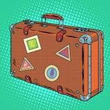 Suitcase traveler Luggage Stock Photography