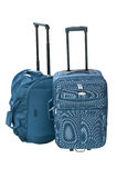 Suitcase and traveling bag . Stock Photography