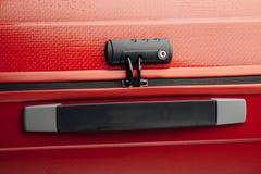 Suitcase tsa lock Royalty Free Stock Photography