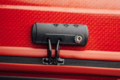 Suitcase tsa lock Stock Photo