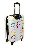 Suitcase with wheels Royalty Free Stock Photo