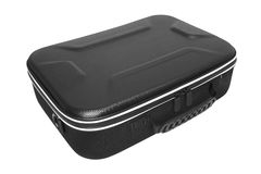 Suitcase on white Royalty Free Stock Photography