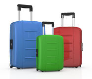 Suitcases Stock Photography