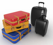Suitcases Stock Image