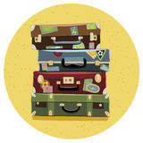 Suitcases Stock Photo