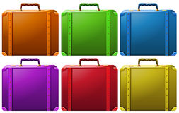 Suitcases Royalty Free Stock Images