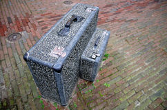 Suitcases of stone Royalty Free Stock Photos
