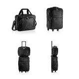 Suitcases and travel bag, briefcase Royalty Free Stock Image