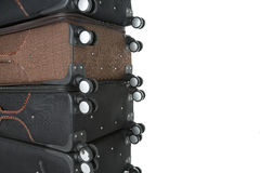 Suitcases travel immigration. Image of suitcases travel immigration Royalty Free Stock Image