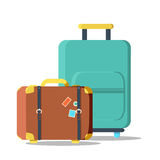 Suitcases travel isolated icon Stock Images