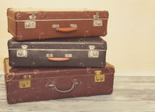 Suitcases for traveling Royalty Free Stock Photography