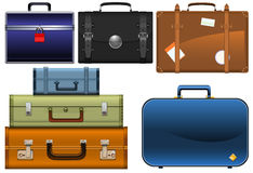 The suitcases Royalty Free Stock Images