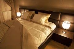 Suite de chambre à coucher Images libres de droits