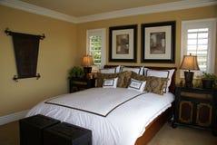 suite de luxe de chambre à coucher Photos stock