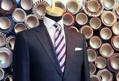 Suit on a mannequin Stock Photography