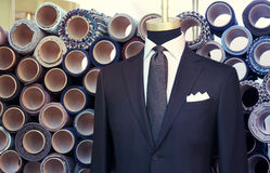 Suit on the mannequin Royalty Free Stock Images