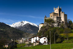 Suite Pierre u. Mont Blanc stockfoto