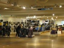 Suitecase department store in Copenhagen Stock Photo