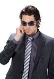 Suited man Royalty Free Stock Photo