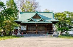 Suitengu shrine the temple of shinto religion at Otaru, Hokkaido Stock Photos